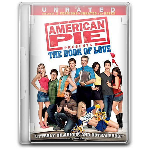 American Pie The Book Of Love, Movie, Movies Icon Free Of English