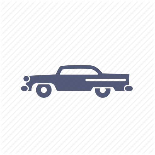 Car, Chevy, Classic, Muscle, Transportation Icon