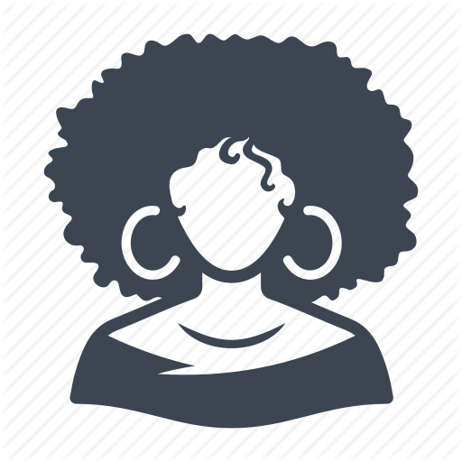Afro Woman, Afro American, Avatar, User Icon
