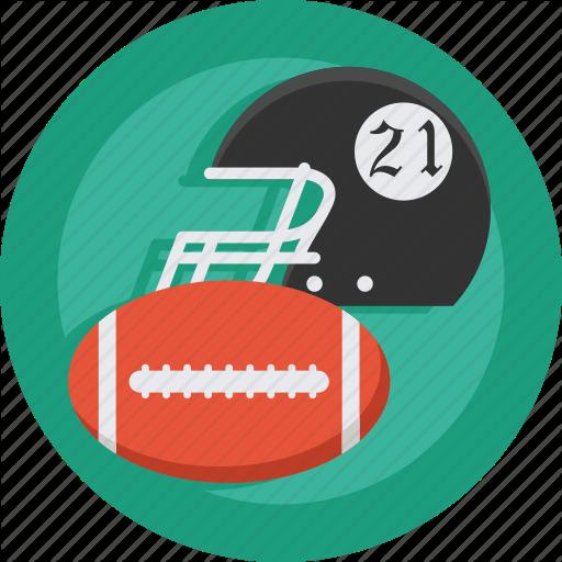 American, American Football, Ball, Football, Helmet, Sport Icon