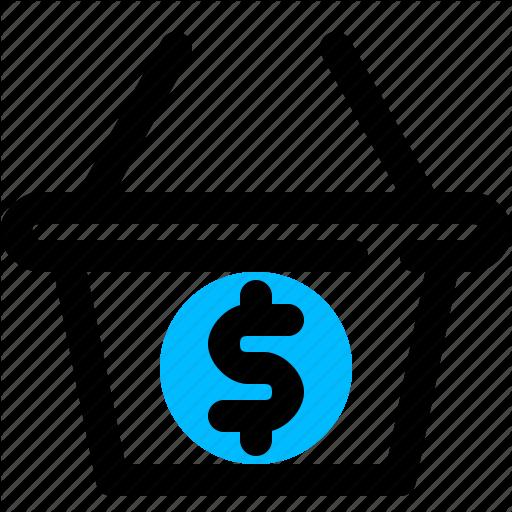 Amount, Basket, Cart, Dollar, Total Icon