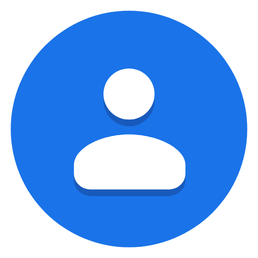 New Icon For Google Contacts Android