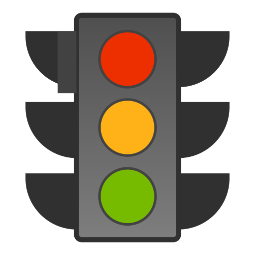 Traffic, Lights, Regular Icon Free Of Snipicons Regular