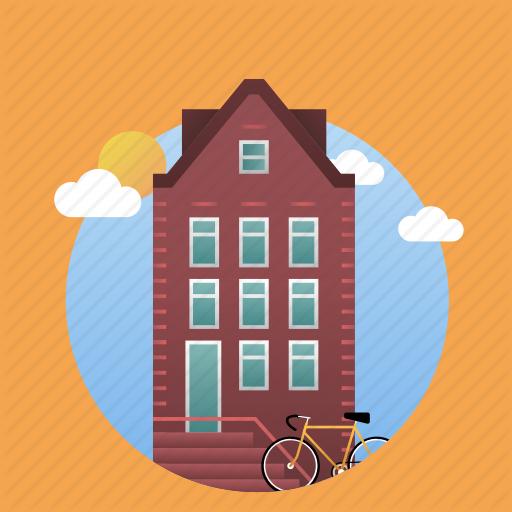 Amsterdam, City, Holland, House, Netherlands Icon