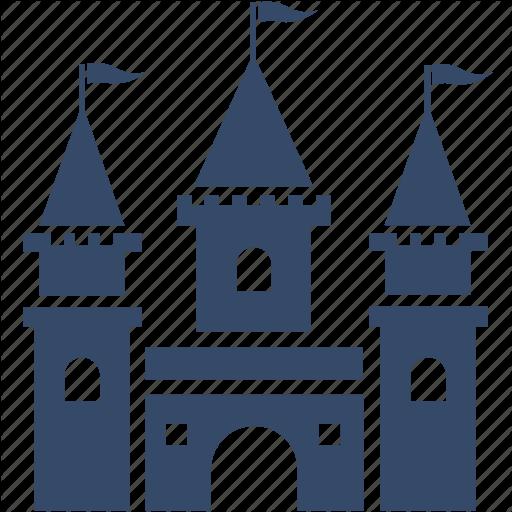 Amusement Park, Castle, Disney, Theme Park Icon