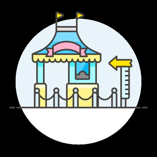 Amusement Park Icon Streamline Ux Free Iconset Streamline Icons