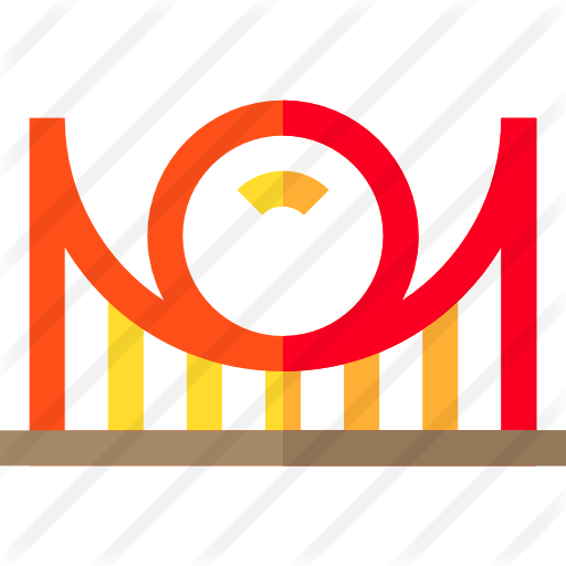 Amusement Park Free Vector Icons Designed