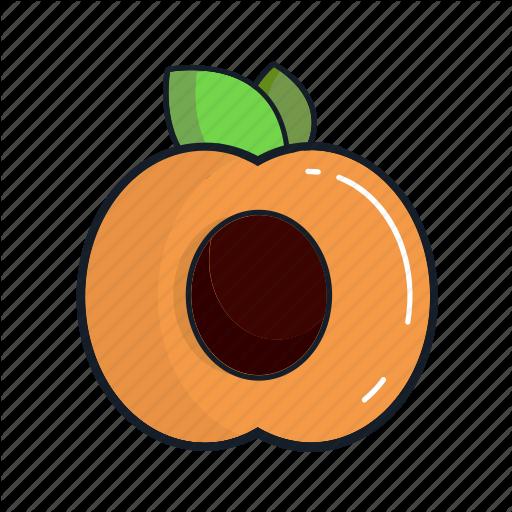 Food, Fruit, Healthy, Juice, Organic, Peach, Smoothie Icon