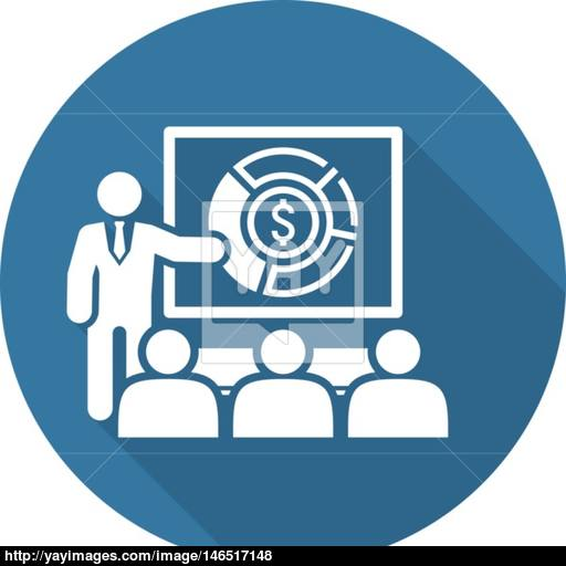 Market Analysis Icon Business Concept Vector
