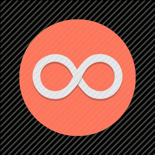 Infinite, Infinity, Loop, Looping, Repeat Icon