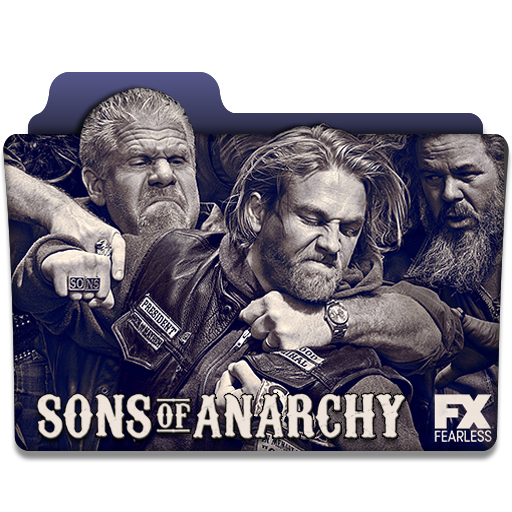 Sons Of Anarchy Tv Series Folder Icon
