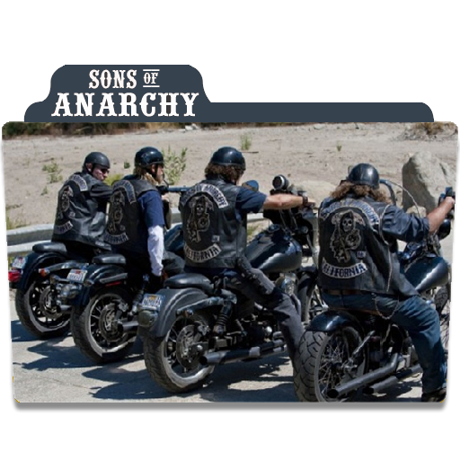 Sons Of Anarchy Folders Sons Of Anarchy Icon Folder