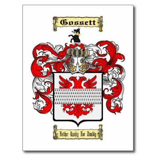 Gossett Family Coat Of Arms