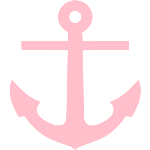 Pink Anchor Icon