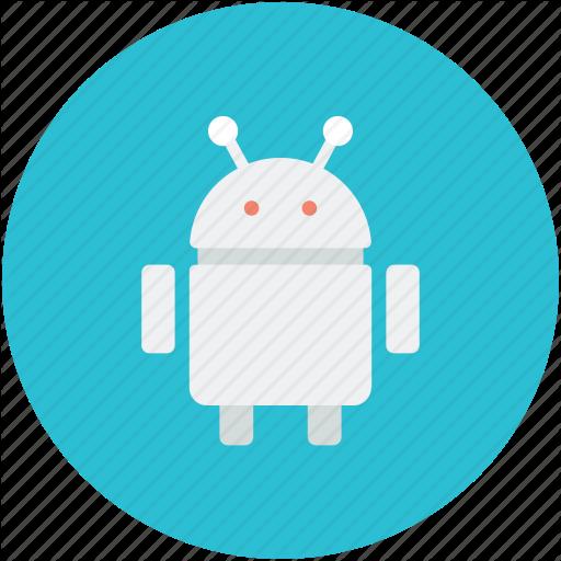 Android Robot, Auto Man, Mechanical Man, Robot Icon