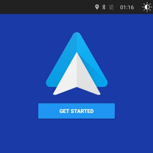 Head Unit Android With Android Auto Sharing Information