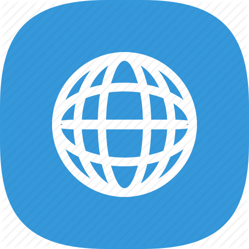 Android, Browser, Flat Color, Globe, Internet, Ios, Iphone, Simple