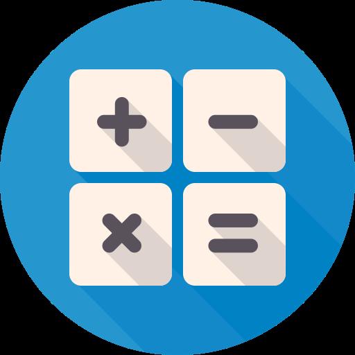Mixed Calculator Icon