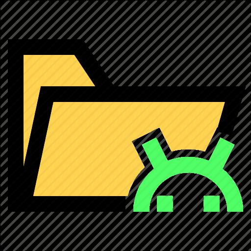 Android, Apk, Folder, Ui, Ux Icon