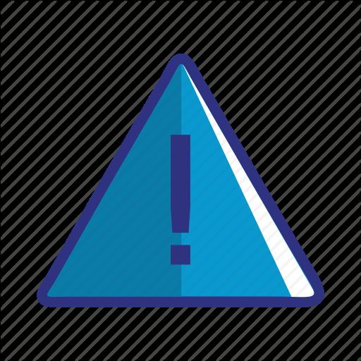 Alert, Blue, Caution, Danger, Error, Problem, Warning Icon
