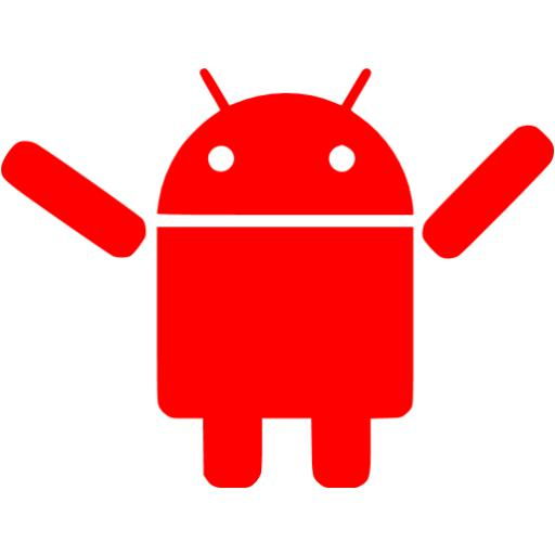 Red Android Icon