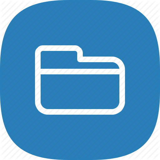 Android, File, Manager, Flat Color, Folder, Ios, Iphone