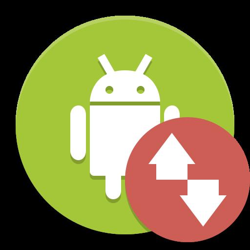 Android Transfer Icon Papirus Apps Iconset Papirus