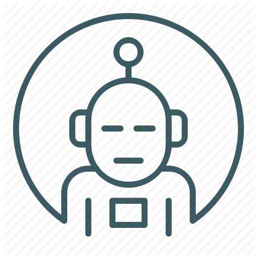 Android, Artificial, Avatar, Identity, Robot Icon