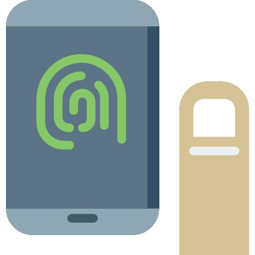 Fingerprint, Reader, Reload Icon
