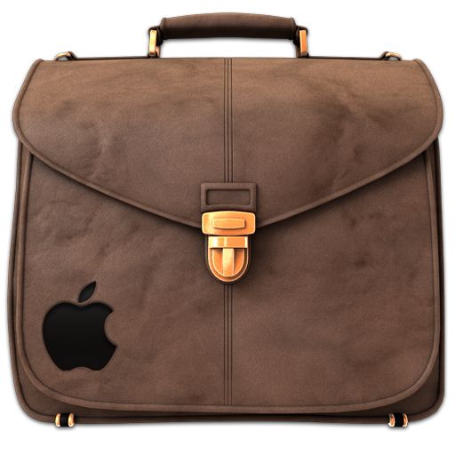 Briefcase Folder Brown Icon