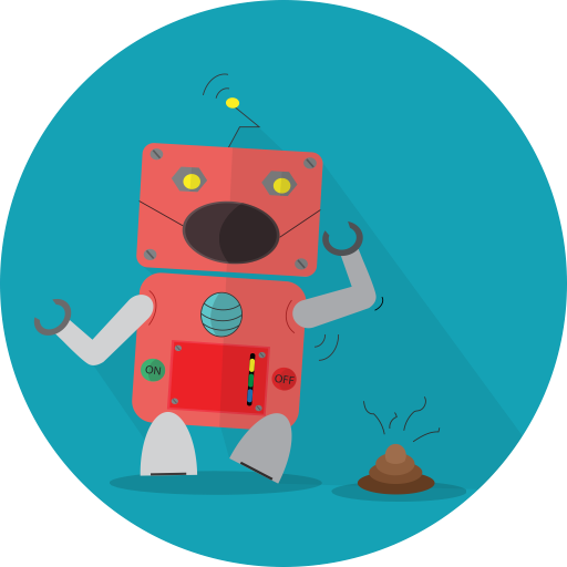 Robot Expression, Mascot, Android Icon