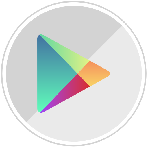 Android, Google, Online, Googleplay, Store, Shopping, Market Icon
