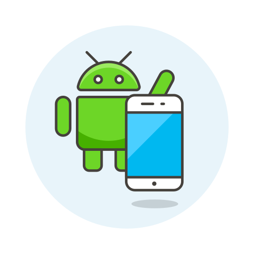 Android, Phone Icon Free Of Stream Line Ux Free Pack Duetone Color