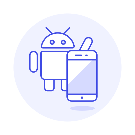 Android, Phone Icon Free Of Stream Line Ux Free Pack Duetone