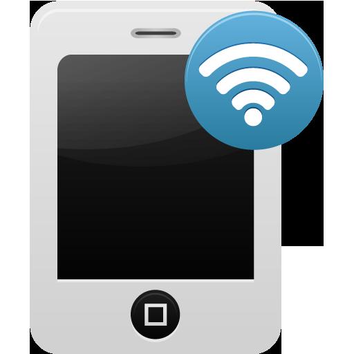 Smartphone Wifi Icon Pretty Office Iconset Custom Icon Design