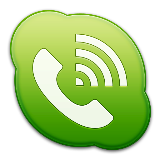 Skype Phone Green Icon