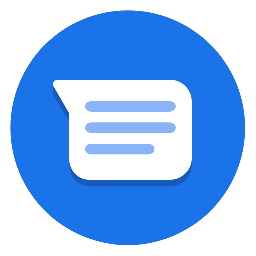 Android Messages Version Gets Material Design Icon