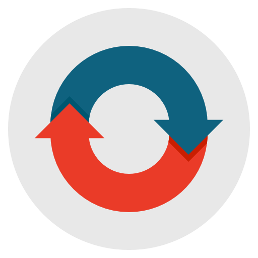Sync, Synchronisation, Recycle, Refresh Icon Free Of Flat Design
