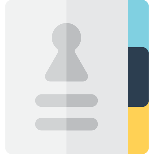 Phonebook, Phone Book, Refresh, Interface, Update Icon