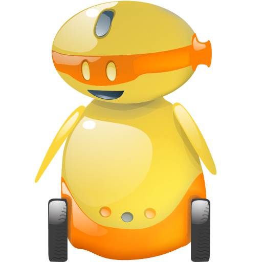 Happy Robot Icon