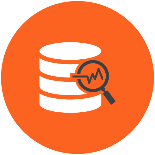 Data, Analysis, Database, Search Icon Free Of Web Hosting