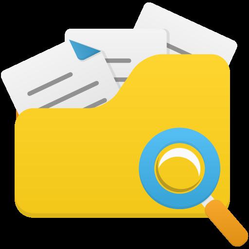 Open Folder Search Icon Flatastic Iconset Custom Icon Design
