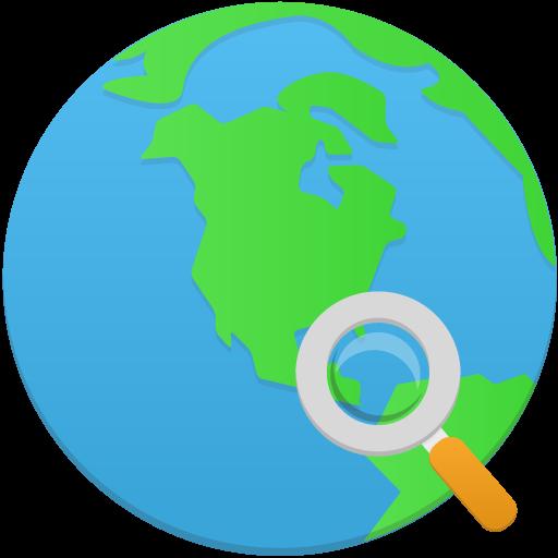 Search Globe Icon