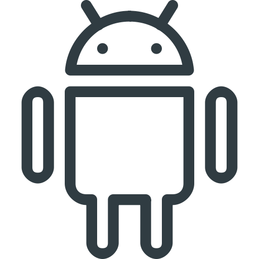 Android Outline Icon