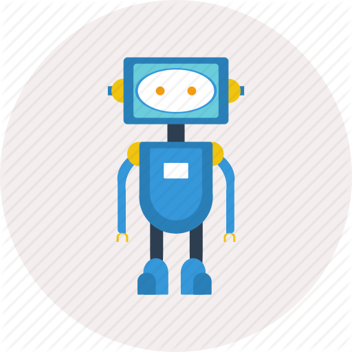 Android, Concept, Design, Electric, Modern, Robot, Technology Icon