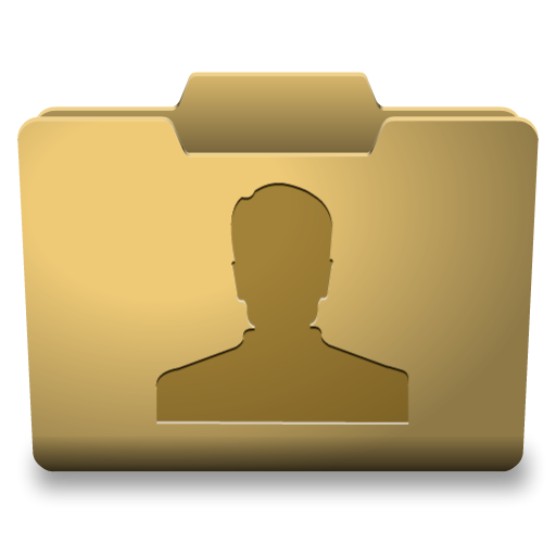 Yellow User Icon