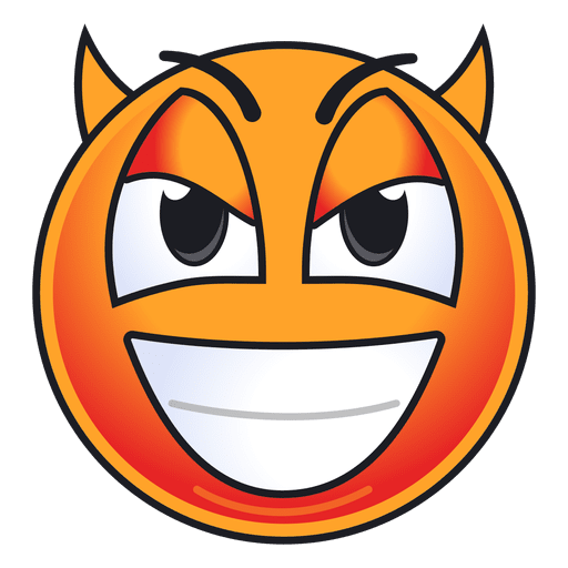 Cute Devil Emoticon