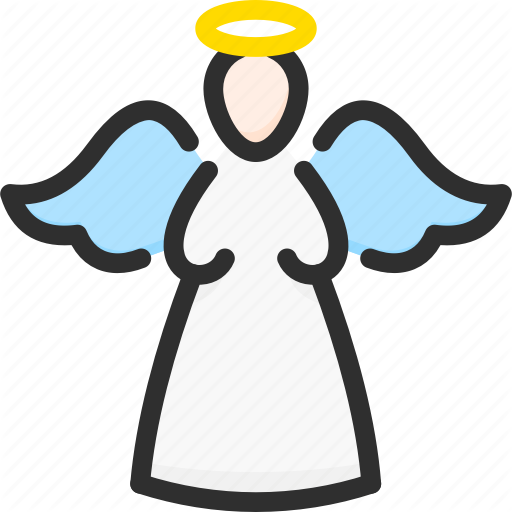 Angel, Christmas, Halo, New, Xmas, Year Icon