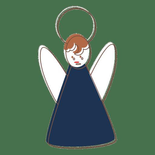 Angel Hand Drawn Cartoon Icon