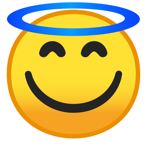 Smiling Face With Halo Emoji Meaning With Pictures From A To Z